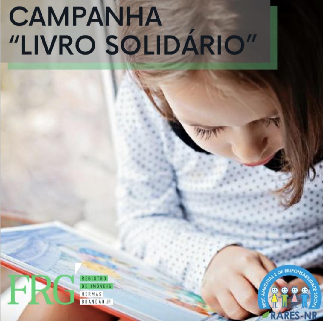 Campanha LIVRO SOLIDÁRIO